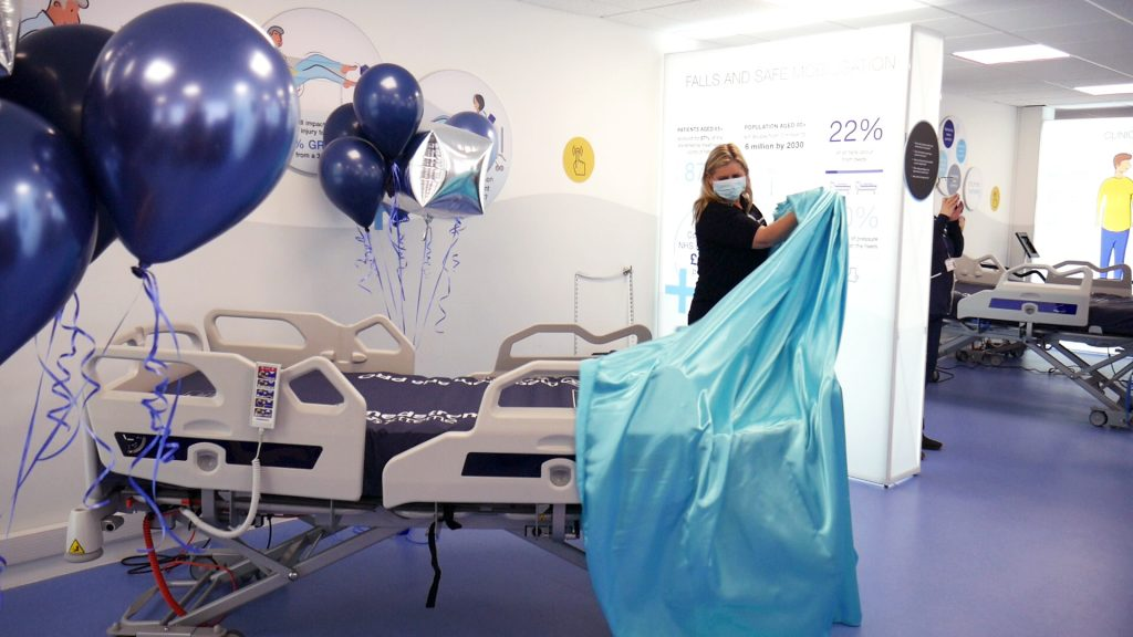 Post tender award - Medstrom worked in partnership with OUH to customise elements of the Solo hospital bed for delivery to Oxford next month